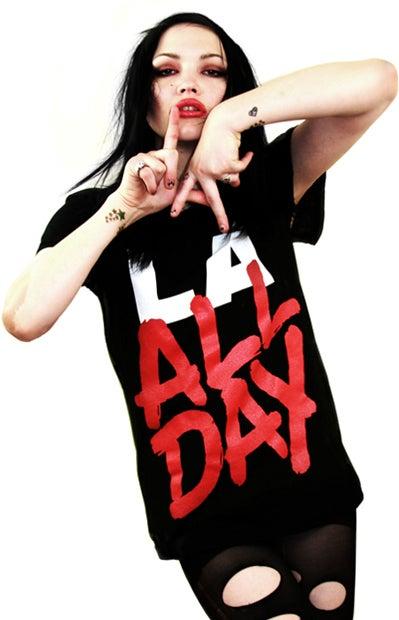 Image of LA All Day (Black) (Womens)