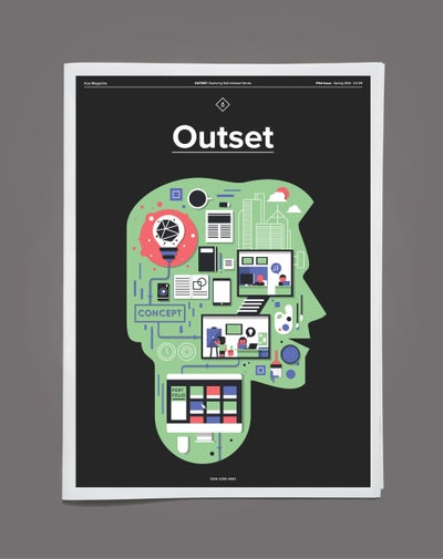 Image of Hue Magazine - Outset 'Exploring Self-Initiated Works'