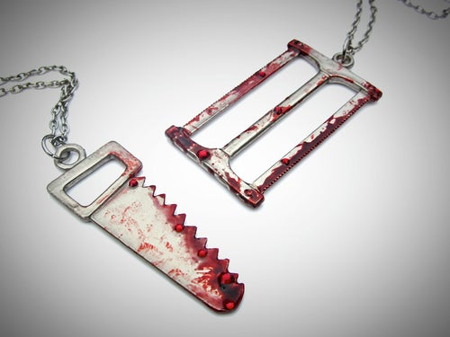 Image of Bloody Weapons Necklace