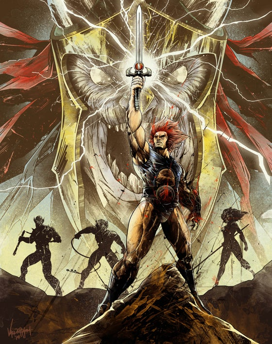 """Image of """"Lords of Third Earth"""" - Inspired by Thundercats"""