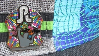 Image of Pretty Lights On Stage Pin