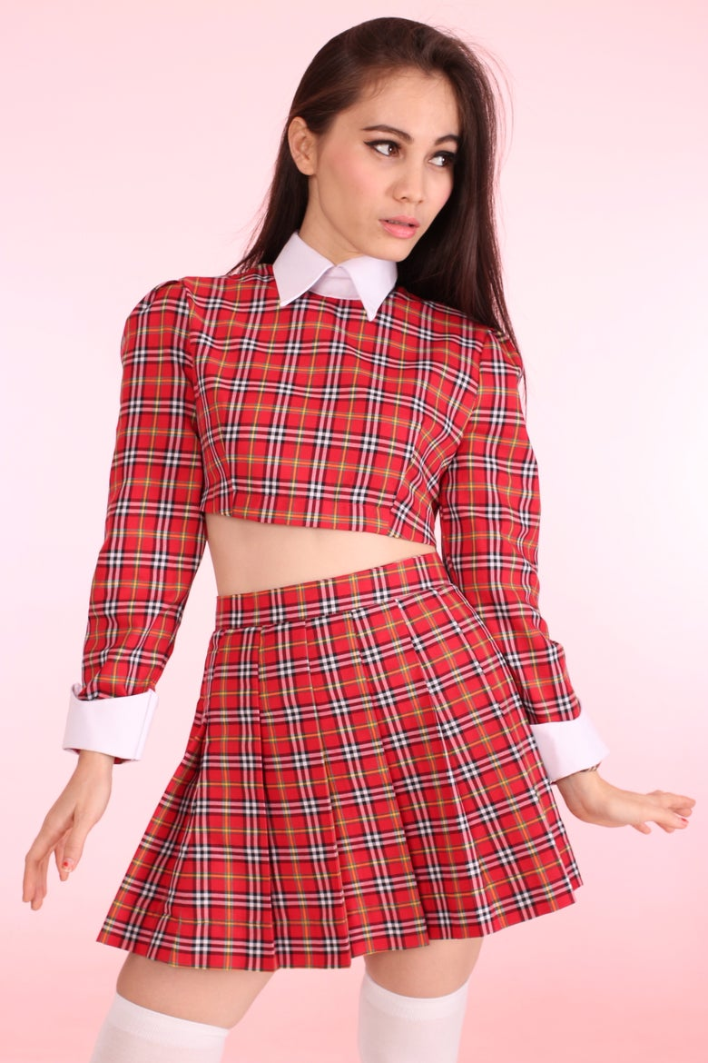 Image of  As If Set in Red Tartan