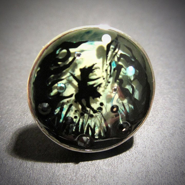 Image of Enchanted Garden Silver Ring