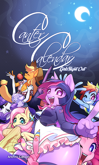 Image of Canter Calendar 2014 - Anthro Special Edition