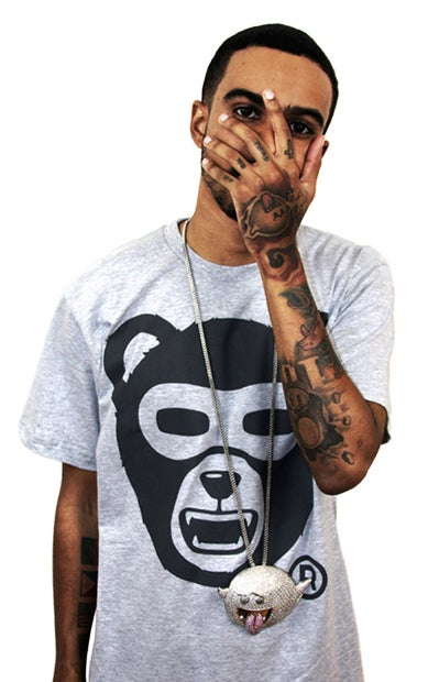Image of Growl Von Grizzly (Heather grey) (Mens)