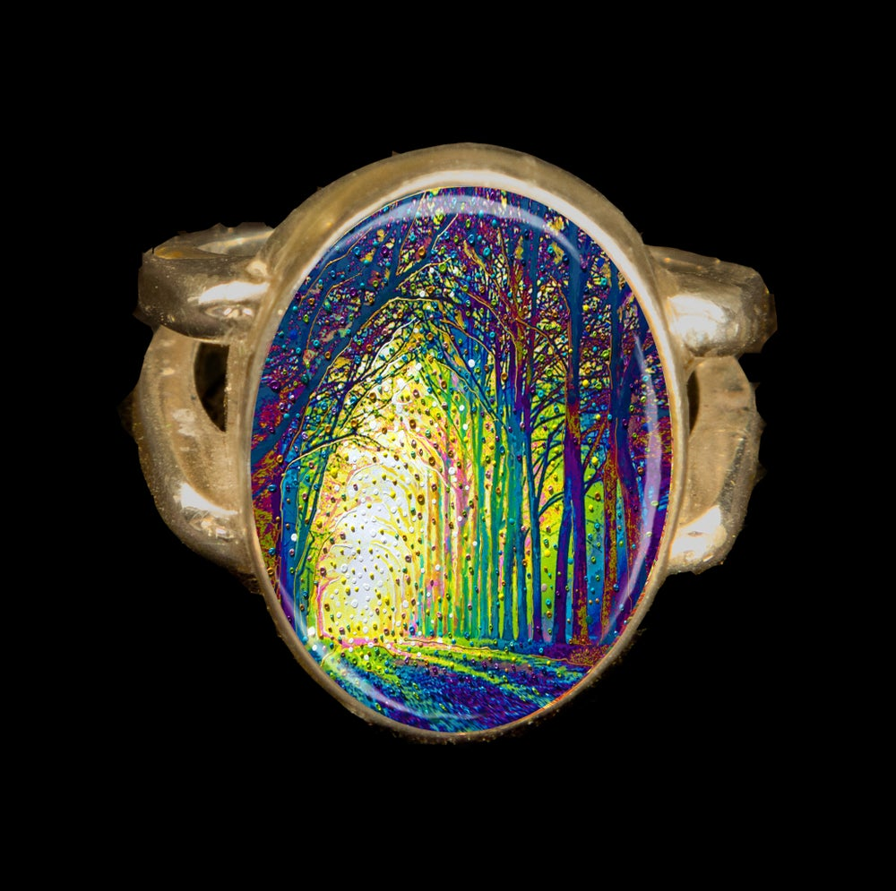 Image of Cathedral Of Light - Divine Revelations Ring
