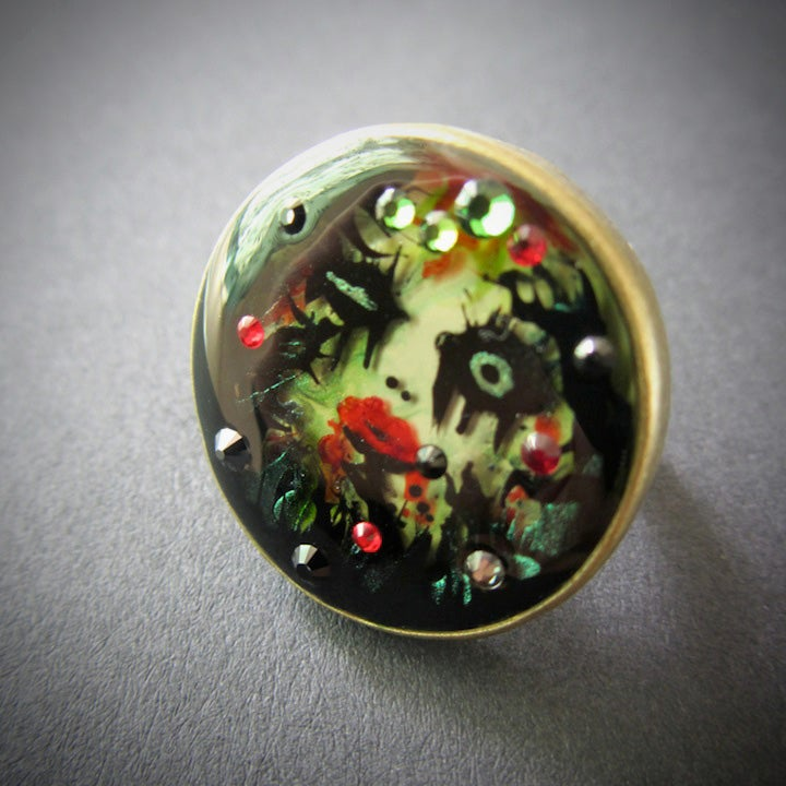 Image of Poison Ivy Bronze Ring