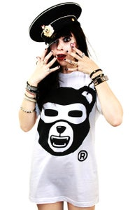 Image of Growl Von Grizzly (White) (Womens)