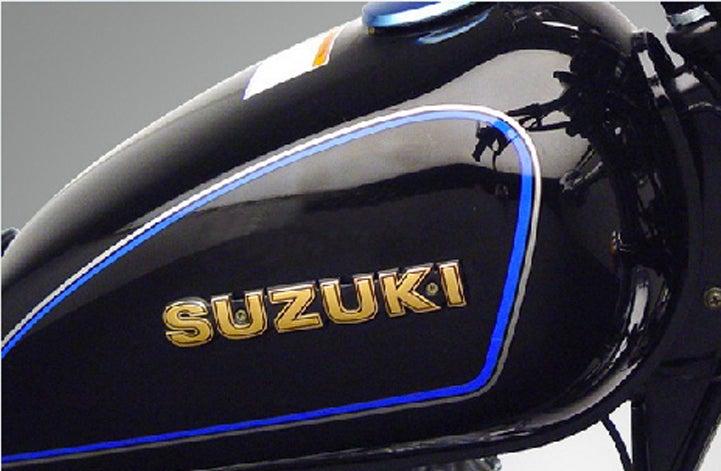 Cafe Racer Suzuki Gn125 Fuel Tank Gas Tank Gn 125 Series Motor Fairing Kit