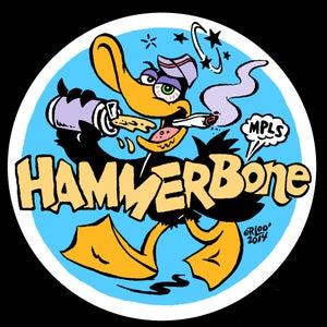 Image of Lootine/HammerBone Sticker