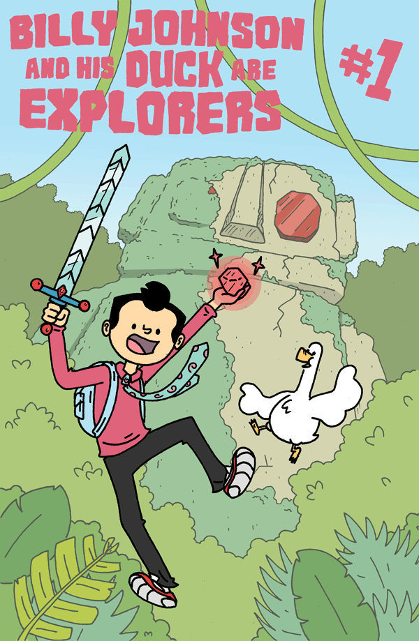 Image of Billy Johnson and his Duck are Explorers #1