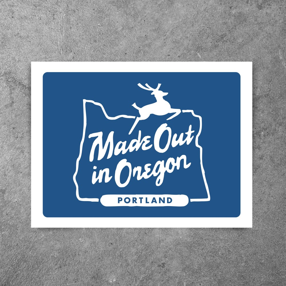 Image of MADE OUT IN OREGON BLUE