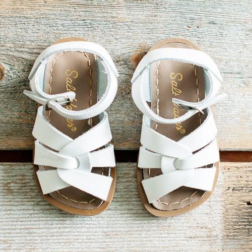 Image of Kids White Saltwater Sandal