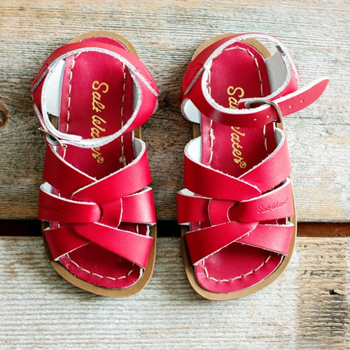 Image of Kids Red SaltWater Sandals