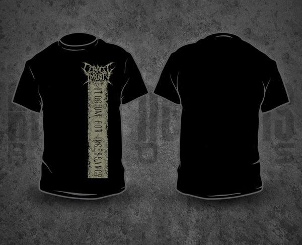 Image of CEPHALIC IMPURITY - Grey Pile / Black T-Shirt