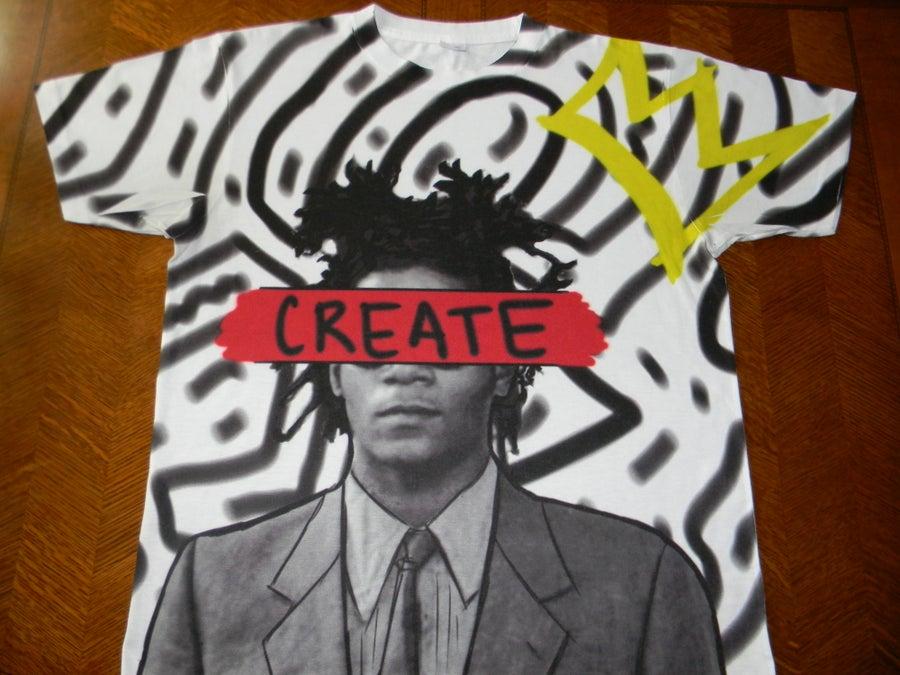"""Image of Basquiat """"CREATE"""""""