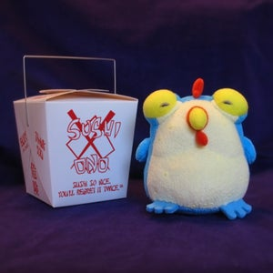 Image of CHEW: Plush Chog - Blue - SOLD OUT