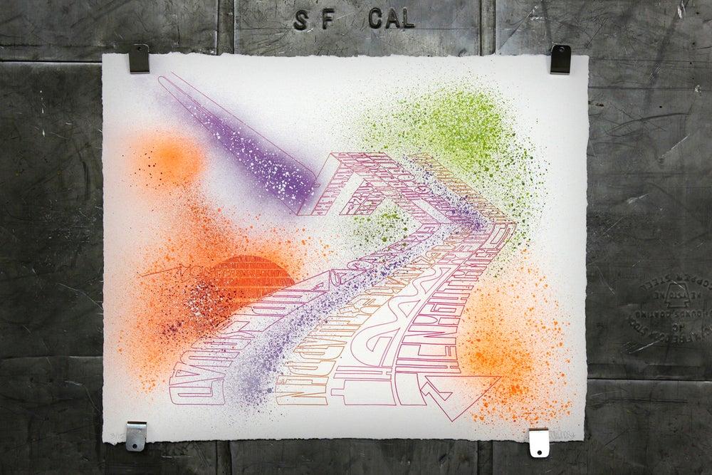 Image of Escape print