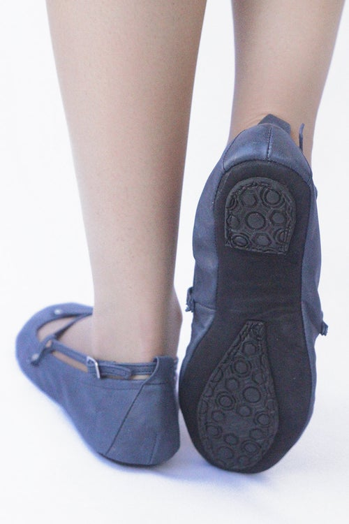 Image of Ballet flats Foldable - Navy