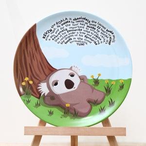 Image of Kevin the Koala Plate