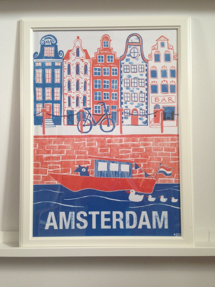 "Image of Poster ""Amsterdam"""