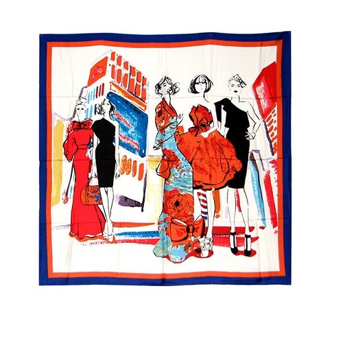 Image of SOLD OUT Fashion Scarf -100% Silk