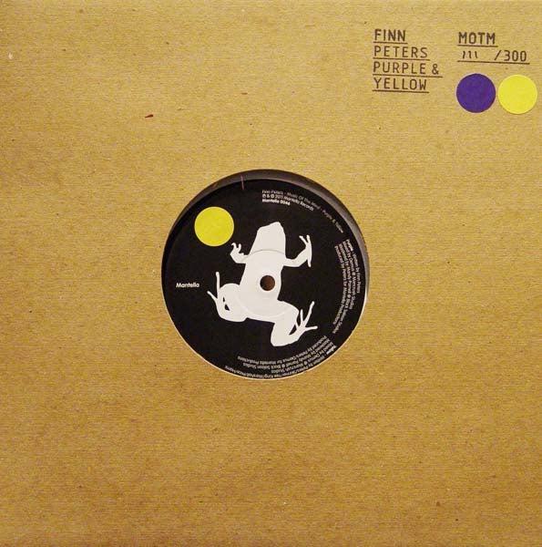 Image of Finn Peters - Purple/Yellow 10 inch