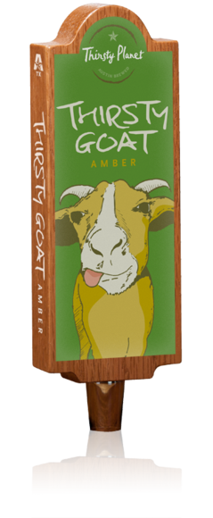 Image of Thirsty Goat Tap Handle