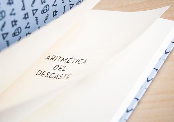 Image of Aritmética del desgaste / José A. González Franco