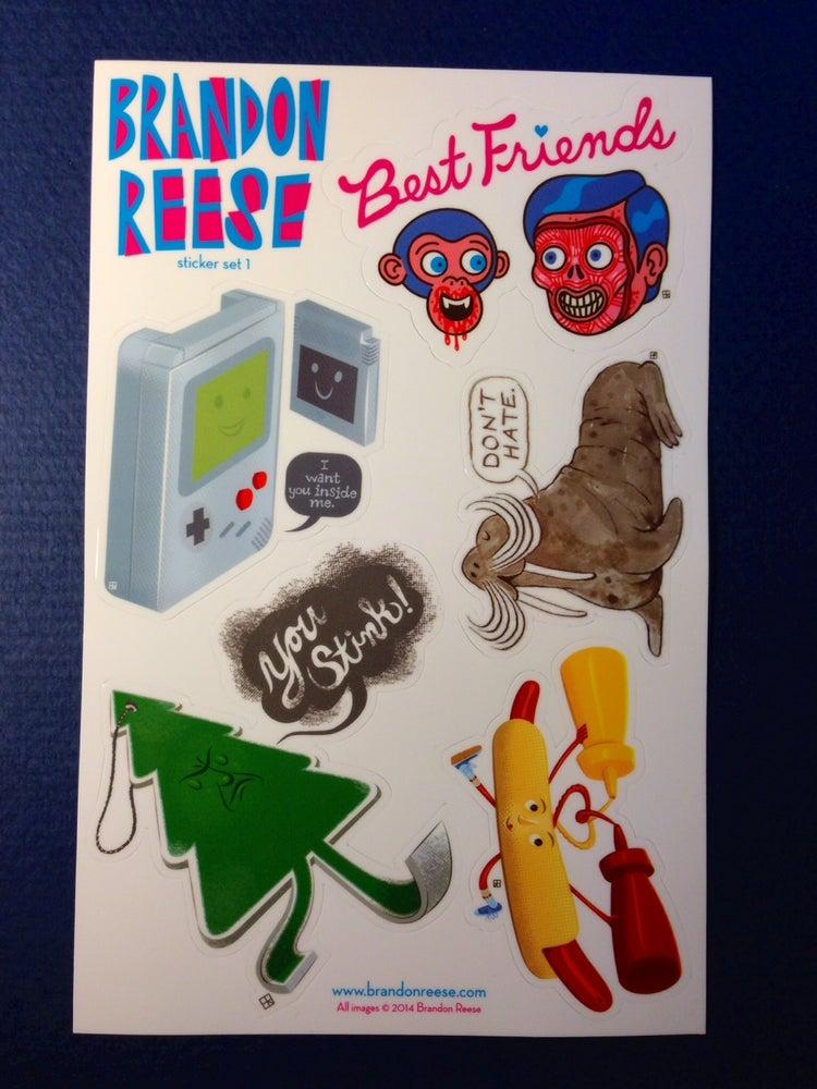 Image of Sticker Set 1