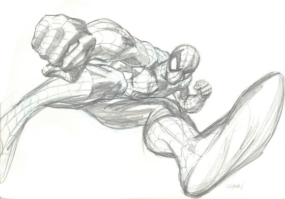 Image of SPIDER-MAN ORIGINAL ART 02