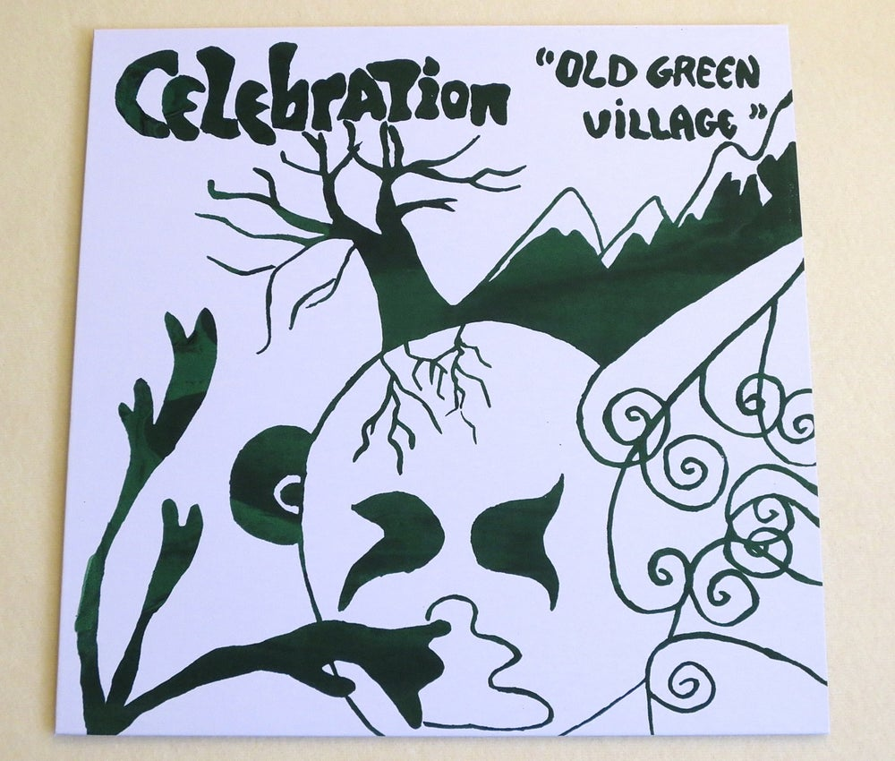 Image of CELEBRATION ~ OLD GREEN VILLAGE ~ lp (TIME-LAG 060)