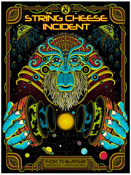 Image of STRING CHEESE INCIDENT @ Oakland - 2014