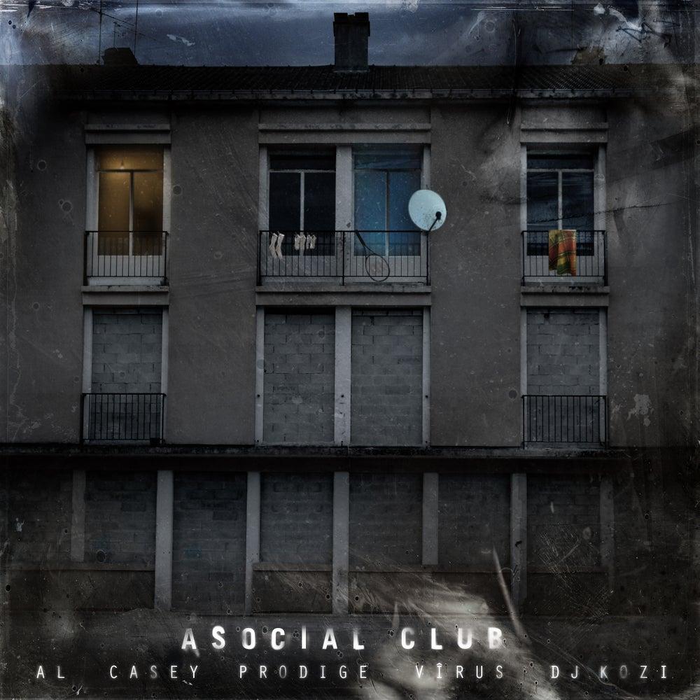 """Image of ASOCIAL CLUB """"Toute entrée est définitive"""" ALBUM CD Digipack"""