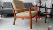 Image of 1960s ole wanscher easy arm chair