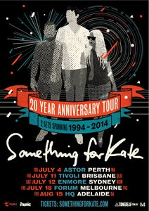 Image of 20 Year Anniversary Tour Poster