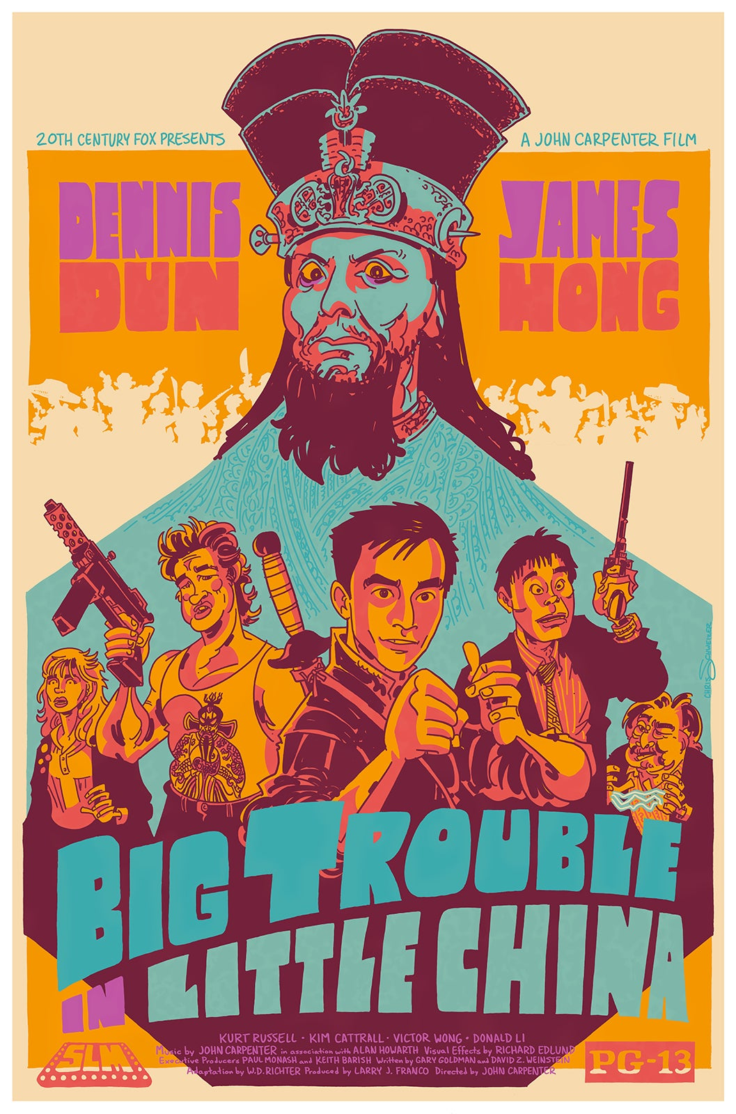 Big trouble in little china mondo poster