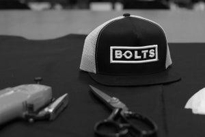 Image of BOLTS//Seasoned USA Trucker Hat