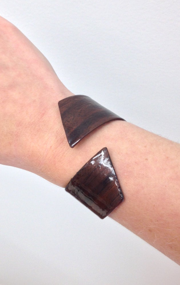Image of Black Walnut Spiral Cuff