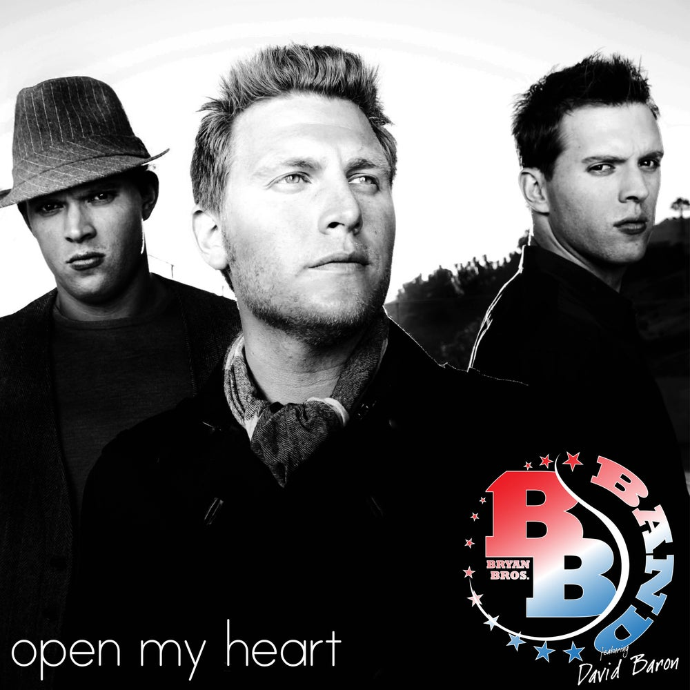 Image of Bryan Bros Band feat. David Baron - Open My Heart