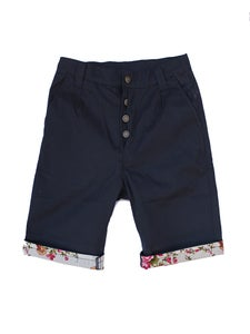 Image of Navy - Safari Shorts