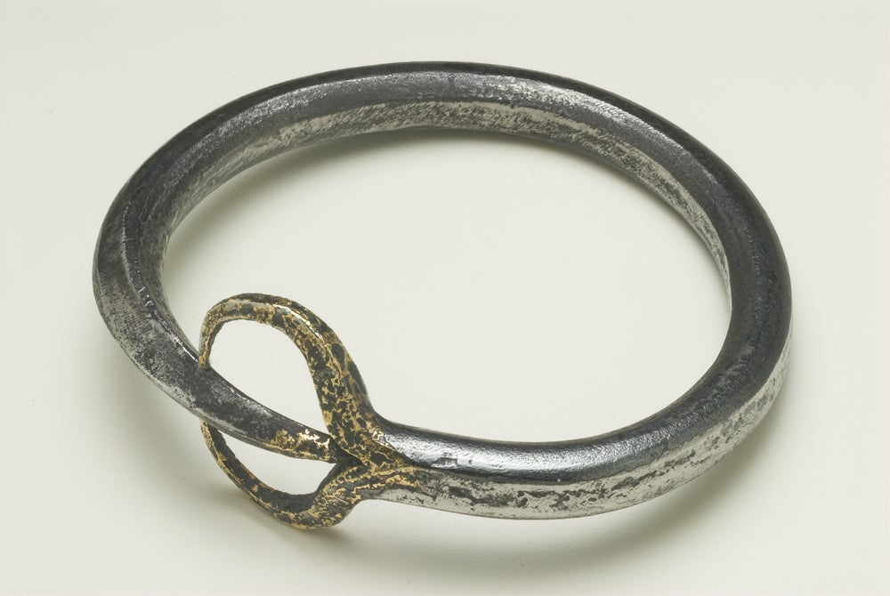 Image of 'FORKED^TONGUE' BANGLE ONE-OFF PIECE AS WORN BY DAENERYS TARGARYEN IN GAME OF THRONES