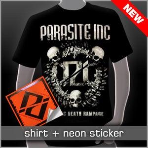Image of Skull Shirt + Sticker Pack