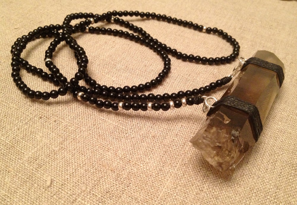 Image of Long & Lean Infinity with Lemurian Crystal II