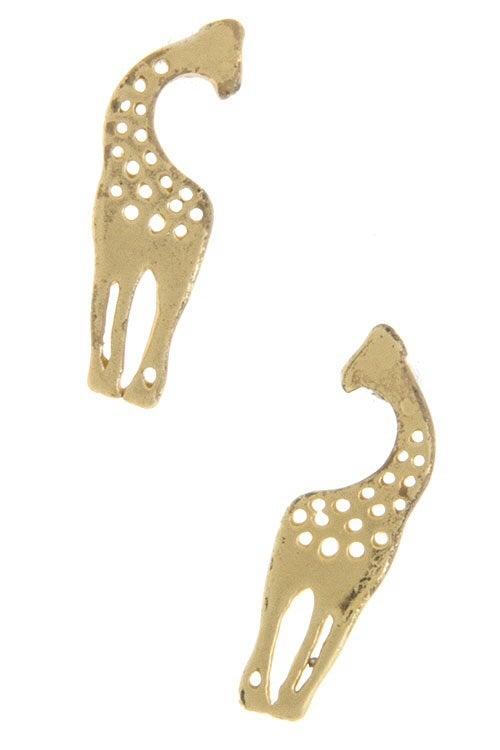 Image of Giraffe Earrings