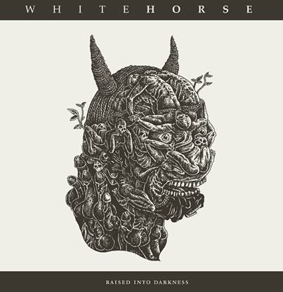 Image of WHITEHORSE - Raised Into Darkness  12""