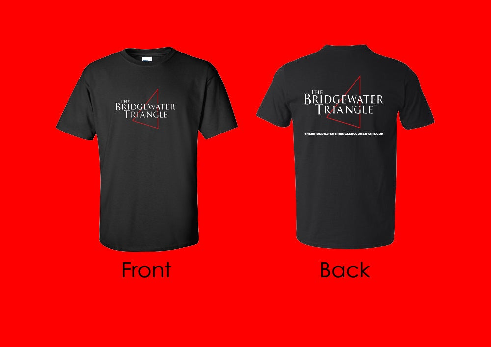 Image of The Bridgewater Triangle T-Shirt - Black