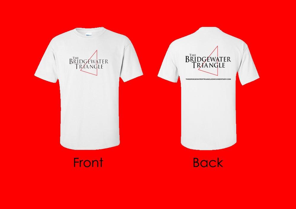 Image of The Bridgewater Triangle T-Shirt - White