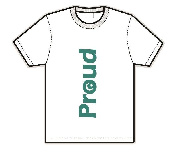 Image of Proud t-shirt