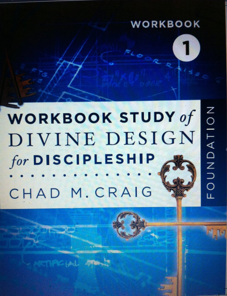 Image of Workbook Study of Divine Design for Discipleship - FOUNDATION 1